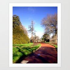 The Prime Ministers Walk Art Print