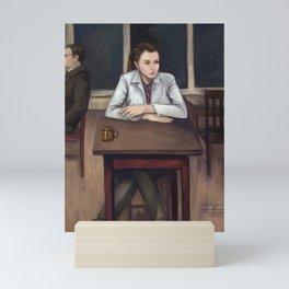 BBC Sherlock - Cafeteria Scene Mini Art Print