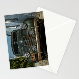 1940 Special Deluxe Grill Route 66 Vintage Classic Car Odell Illinois Stationery Cards