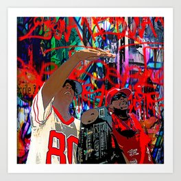 B-Boys Art Print