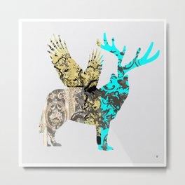 FabCreature · Steppenwolf 3 Metal Print