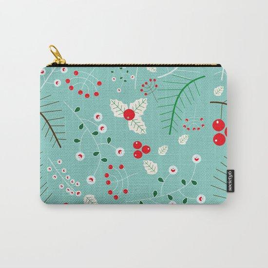 Mistletoe Acqua Carry-All Pouch