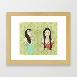 Princesas Framed Art Print