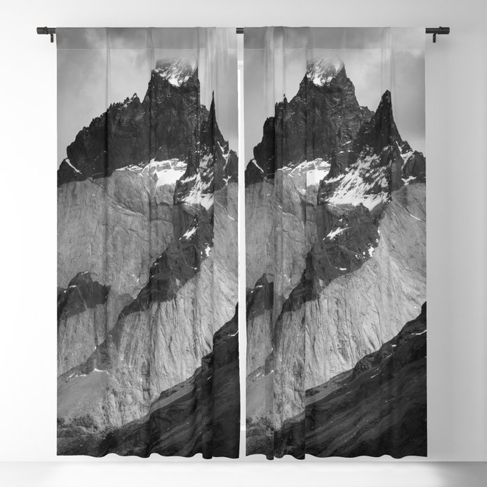 Patagonian Mountains Blackout Curtain