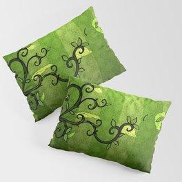LEAVE - Summer Green Pillow Sham