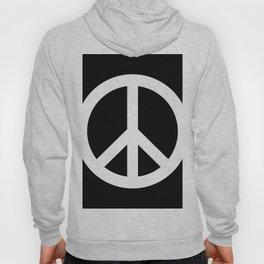 Peace (White & Black) Hoody