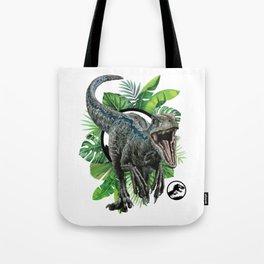 Velociraptor Blue! Tote Bag