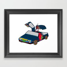 Cool Boys Like Flying Cars Framed Art Print