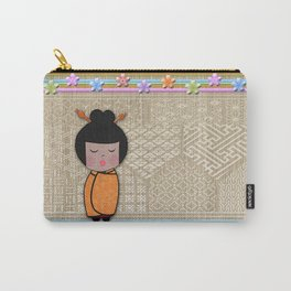 kokeshi dragonflies Carry-All Pouch