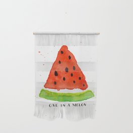 One in a melon Wall Hanging
