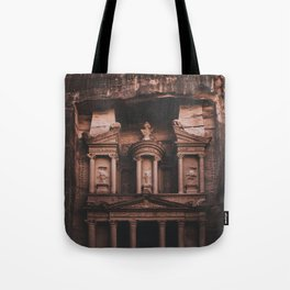 Al-Khazneh, Petra Tote Bag