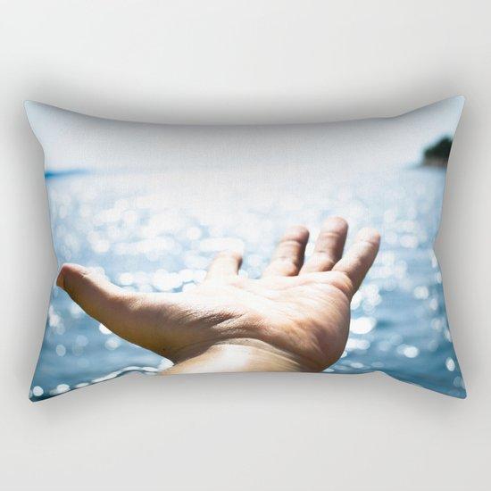 I hear them calling Rectangular Pillow