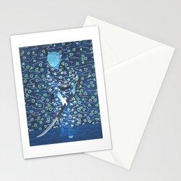 Samurai Cat Stationery Cards