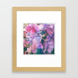 orchid mashup Framed Art Print