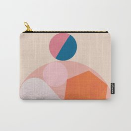 Abstraction_SHAPES_Minimalism_Happy_Together Carry-All Pouch
