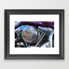 Live to Ride Framed Art Print