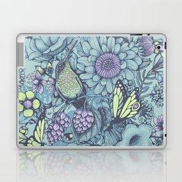 Beauty (eye of the beholder) - aqua version Laptop & iPad Skin