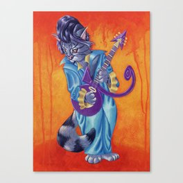 Kitty the Prince Canvas Print