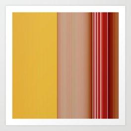 stripes 178 Art Print