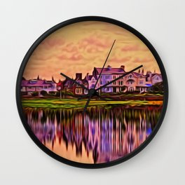 Imagine (Digital Art) Wall Clock