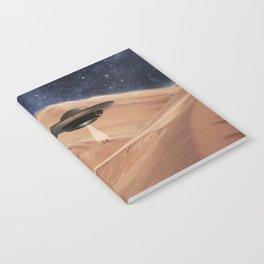ALIEN DESERT ABDUCTION Notebook