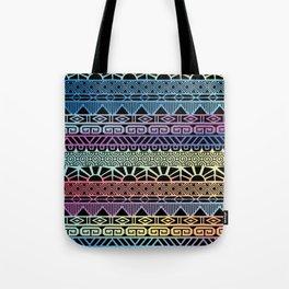 Aztec Cobalt Tote Bag