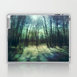 Winter lake Laptop & iPad Skin