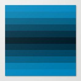 Blue Gradient Canvas Print