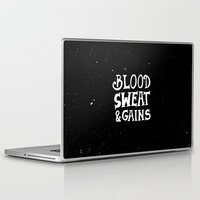 gym Laptop & iPad Skins featuring Gym by Textures