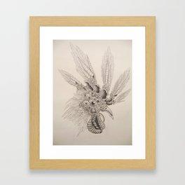 Cockeyed Framed Art Print