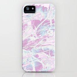 Baesic Wet Paint Purple iPhone Case