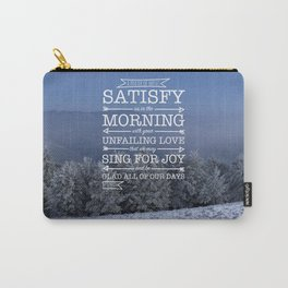 Winter Satisfaction Carry-All Pouch