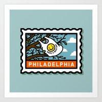 philadelphia Art Prints featuring Philadelphia by gregchristman