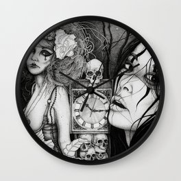 The Way Time Takes Your Life Away (full) Wall Clock