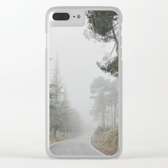 """Into the woods"" Come in..... Clear iPhone Case"