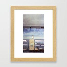 The Angler Framed Art Print