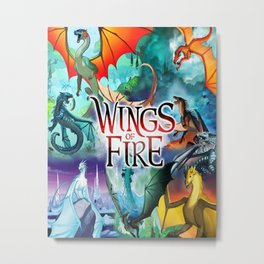 Wings Of Fire All Dragon Metal Print