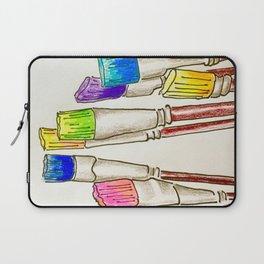 Brushes Laptop Sleeve