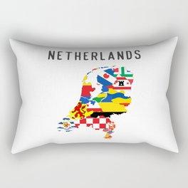 Netherlands country regions Rectangular Pillow