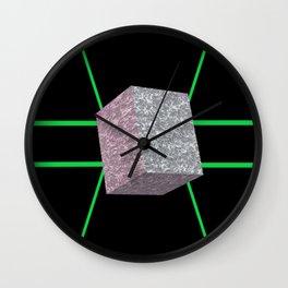 Concrete Cuboid Wall Clock
