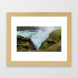 Gullfoss Framed Art Print