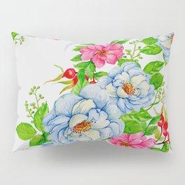 Vintage Floral Pattern No. 7 Pillow Sham