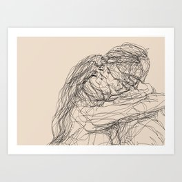 make-out? Art Print