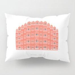 Hawa Mahal 2, Pink Wind Palace   Jaipur, India Pillow Sham