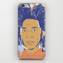 Basquiat! iPhone Skin