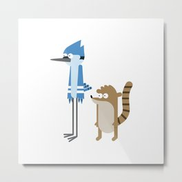 Regular show Metal Print