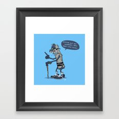 The Oldest Crayon in the Box Framed Art Print