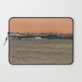 Bakers Island Light from Magnolia Laptop Sleeve