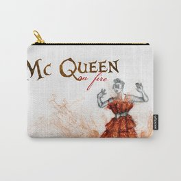 Mc Queen on fire Carry-All Pouch