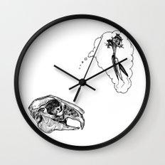 Hungry Bones Wall Clock